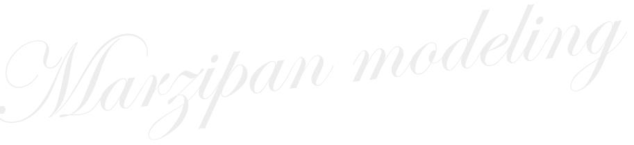 marzipan-modeling
